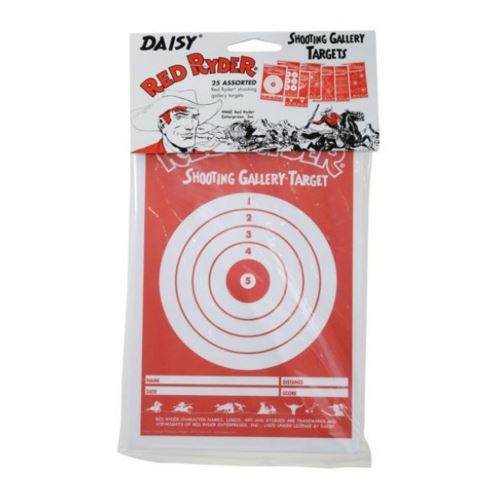 Daisy Red Ryder Paper Targets 25 Ct