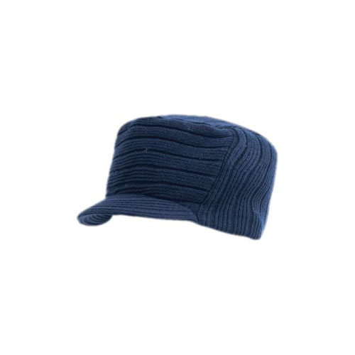 Decky Navy 963 Flat Top Jeep Cap