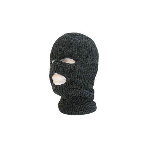 Decky Charcoal 970 Tactical Masks 3 Holes