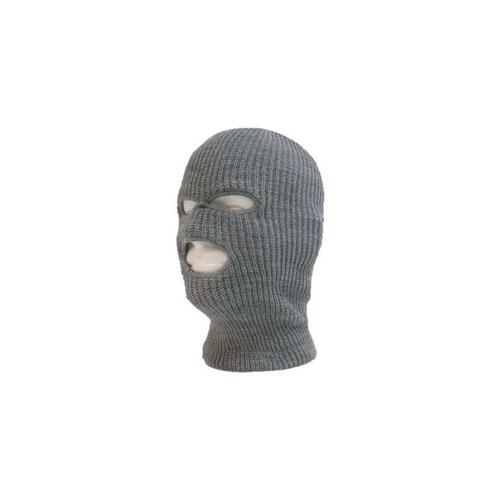 Decky Grey 970 Tactical Masks 3 Holes