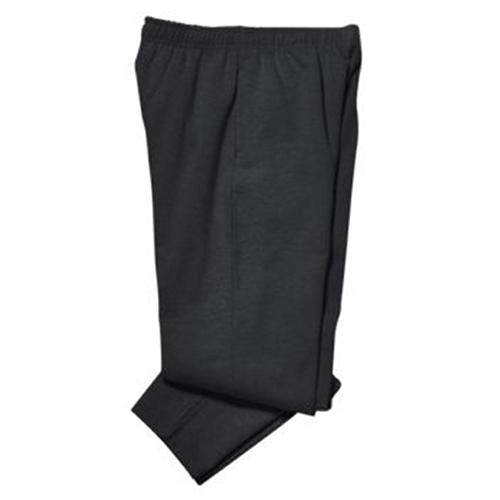 Core Fleece Open Bottom Black Pant