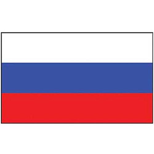 Eagle Emblems F2094 Russia Flag - 2 x 3 Feet