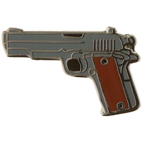 Eagle Emblems P00597 Milt 1 Inch 45cal gun Gun Pin