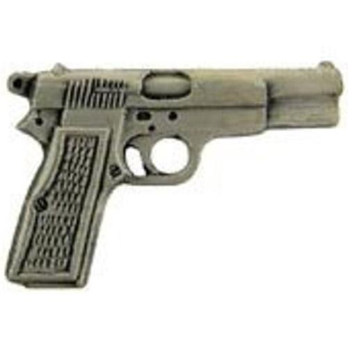 Eagle Emblem 9mm Gun Pin - 1 Inch