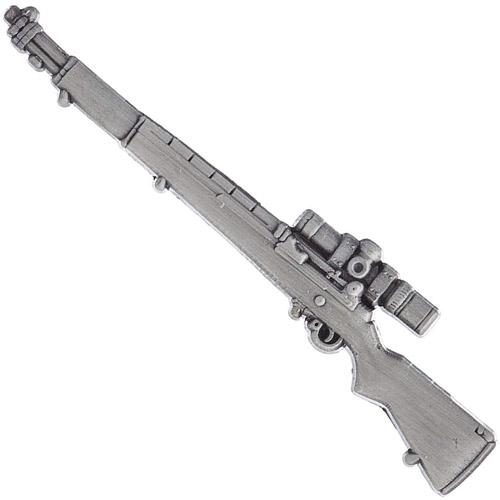 Eagle Emblems M1 Garand Sniper Rifle Pin - 2.5 Inch