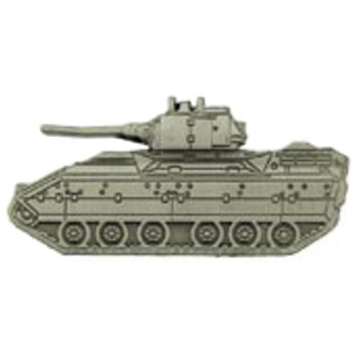 Eagle Emblem 2 Inch M2A1 Bradley Tank Pin