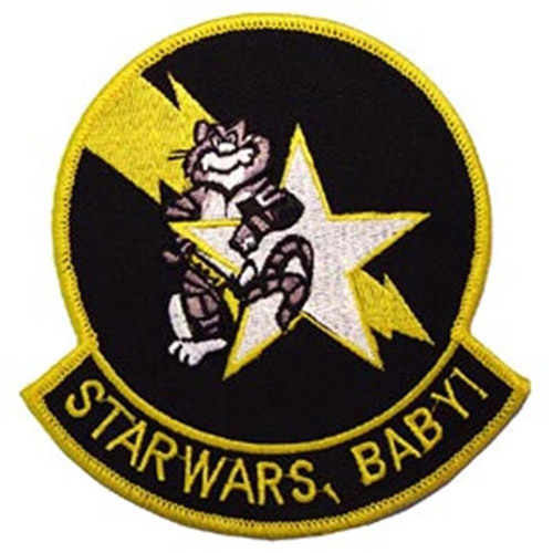 Eagle Emblems USN Tomcat Starwars Patch