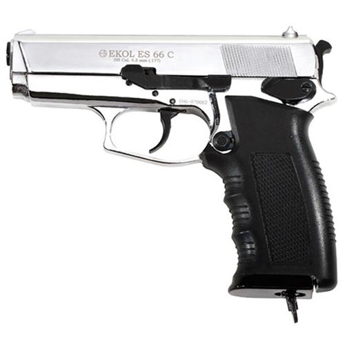 Ekol Compact Chrome Finish CO2 BB Pistol