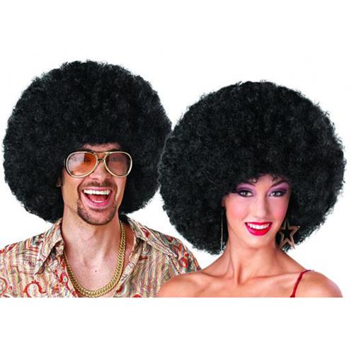 Deluxe Afro Wig - Black