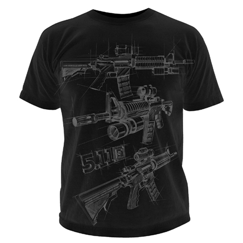 5.11 AR Sketch Logo T-Shirt