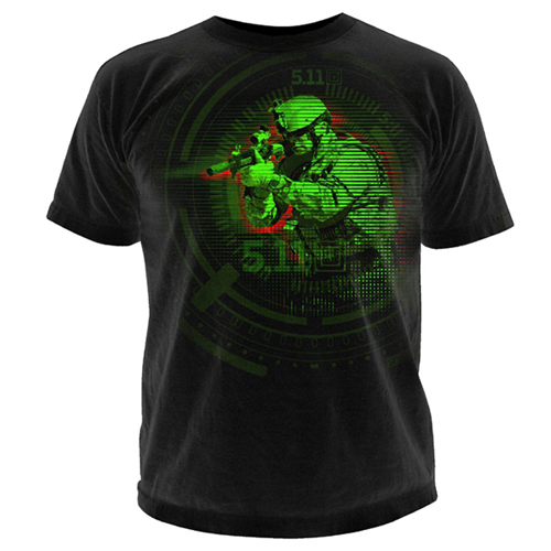 5.11 Tactical Night Vision Logo T-Shirt