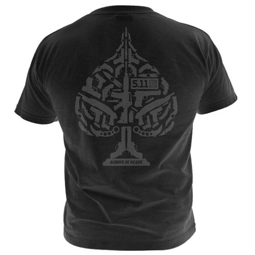 5.11 Tactical Ace of Blades Logo T-Shirt