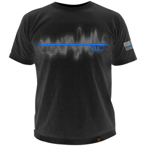 5.11 Tactical The Thin Blue Line T-Shirt