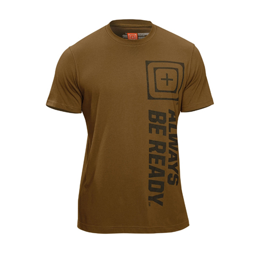 5.11 Tactical Recon ABR Tee Battle Brown T-Shirt