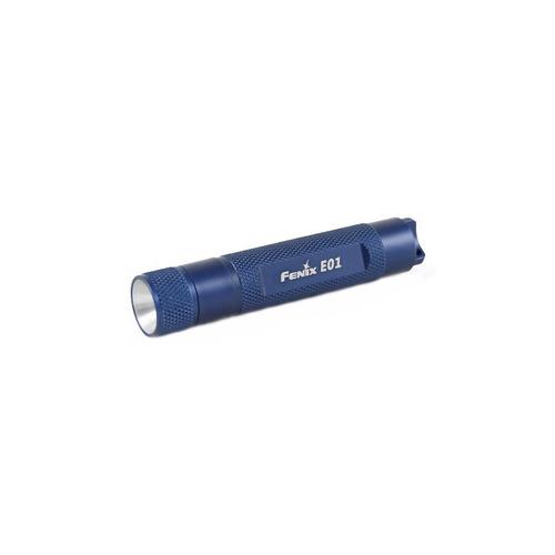 Fenix E01 - 10 Lumen Blue Flashlight