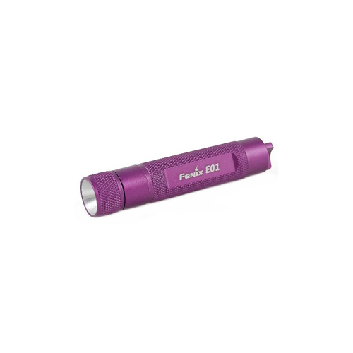 Fenix E01 - 10 Lumen Purple Flashlight