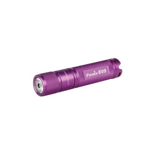 E05 - 27 Lumen Purple Flashlight