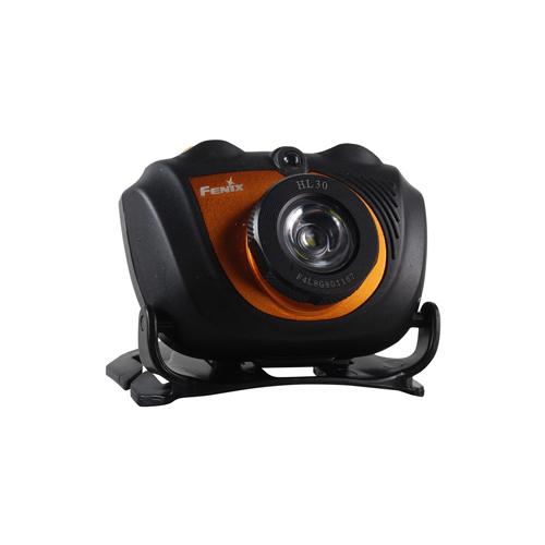 Fenix 200 Lumen High Intensity Black Headlamp with Dual Sources