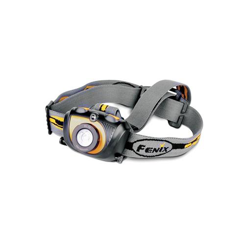 Fenix 200 Lumen High Intensity Gray Headlamp with Dual Sources