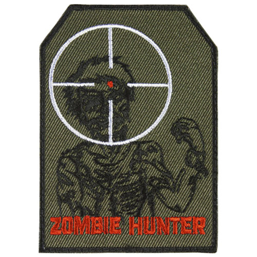 FOX OUTDOOR ZOMBIE HUNTER PATCH - OLIVE DRAB