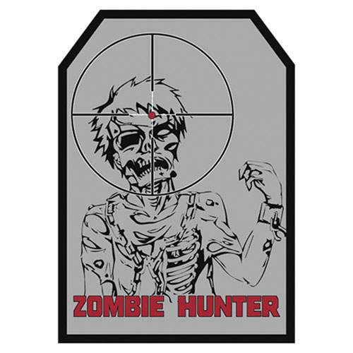 FOX OUTDOOR ZOMBIE HUNTER PATCH - GREY