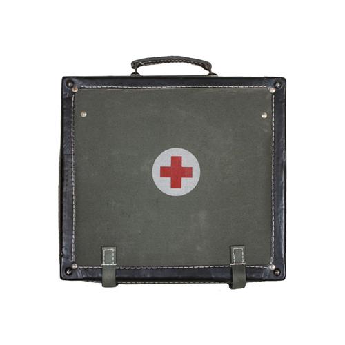 Serbian Army Olive Drab Medical Case