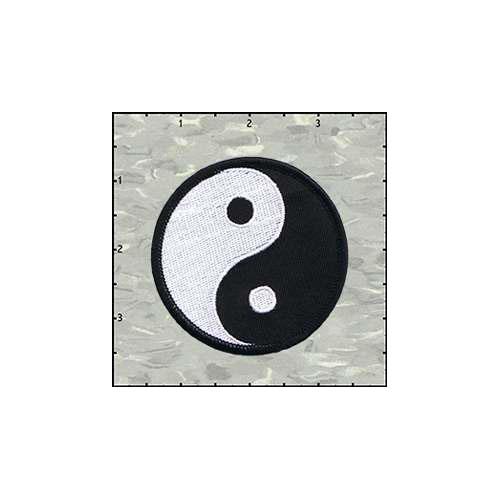 Yin Yang 2.75 Inches Patch