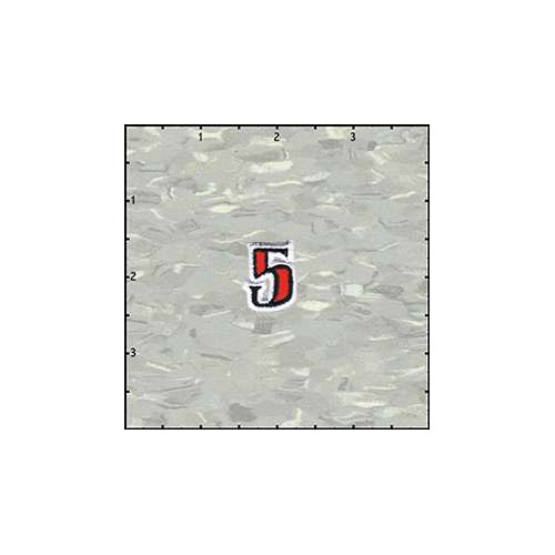 Reeds Tattoo Alphabet 5 Patch