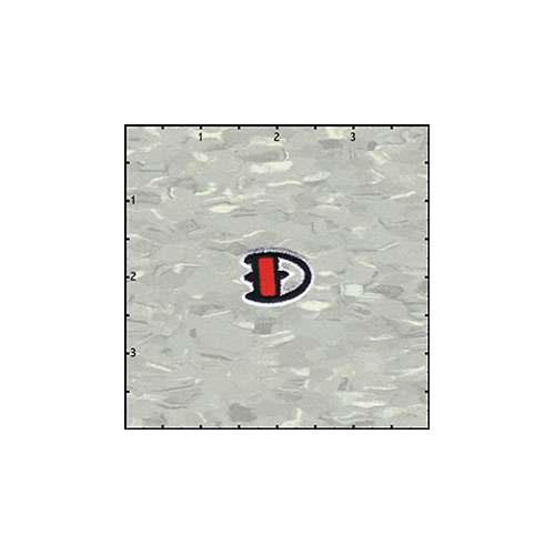 Reeds Tattoo Alphabet D Patch