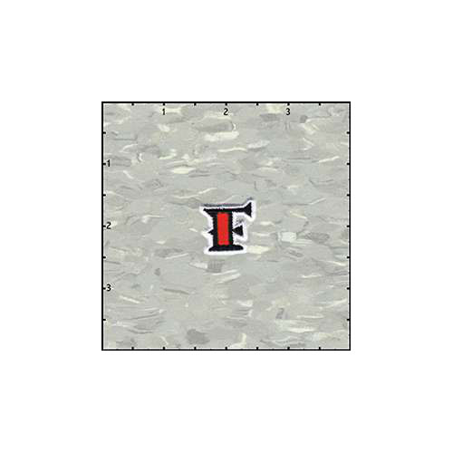 Reeds Tattoo Alphabet F Patch