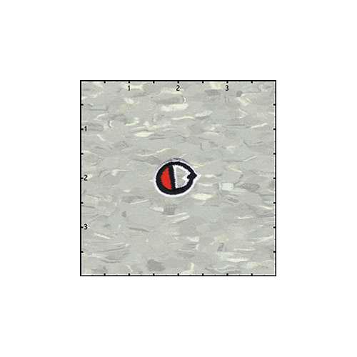Reeds Tattoo Alphabet O or 0 Patch