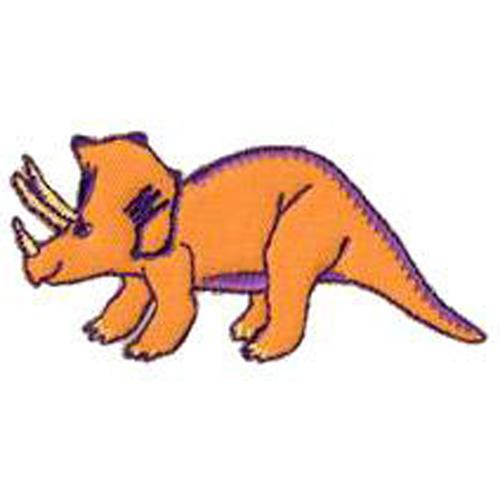 Dinosaur Triceratops Patch