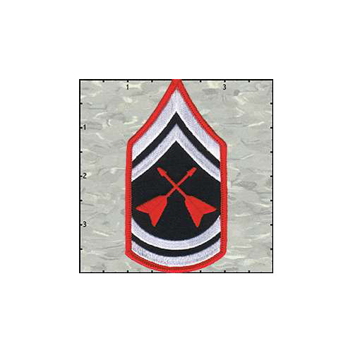 Stripes Rock and Roll Army Patch