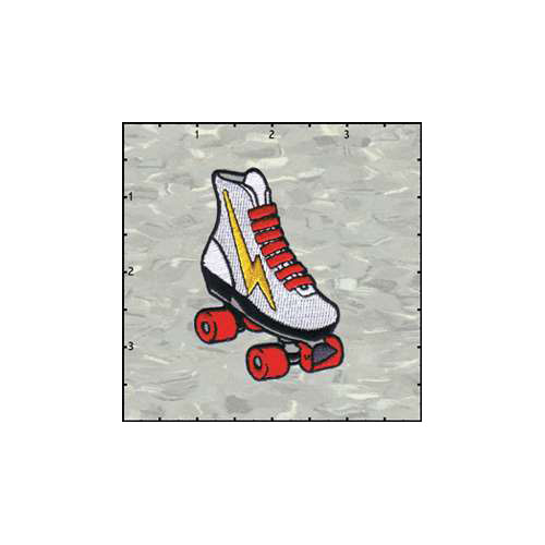Roller Skate Left Patch