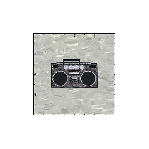 Boombox Patch