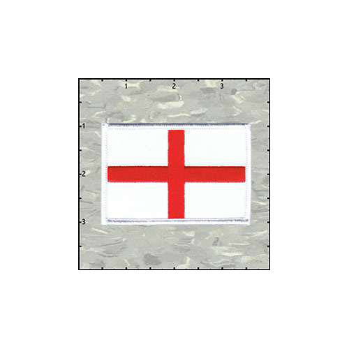 Flag St Georges Cross Patch