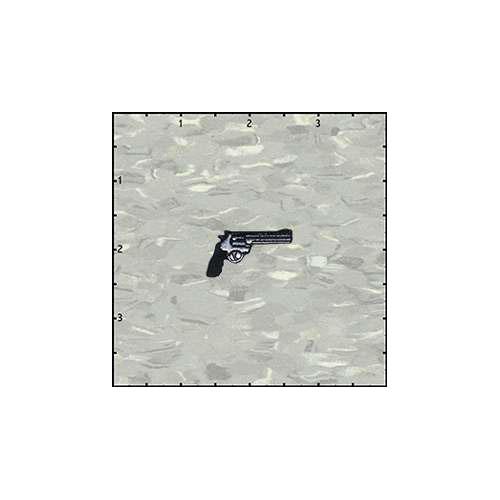 Gun 1.25 Inches Left Patch