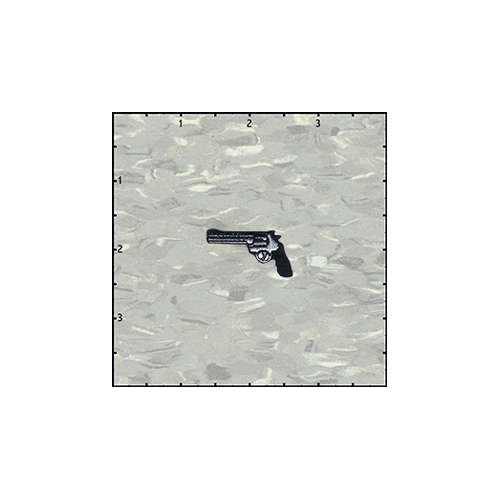 Gun 1.25 Inches Right Patch