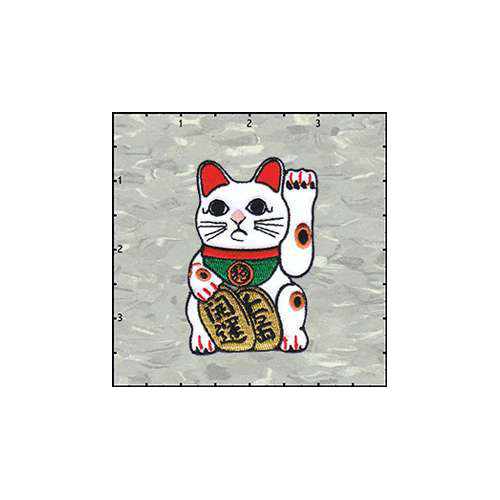 Lucky Cat 2.75 Inches Patch