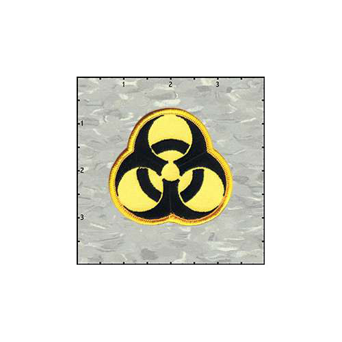Biohazard 2.5 Inches Patch