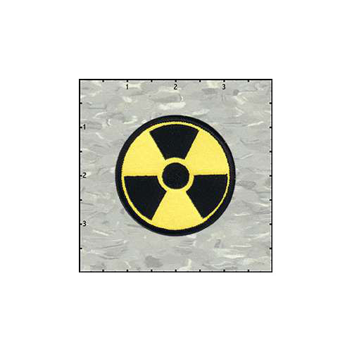 Radiation 2.5 Inches Patch