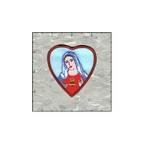 Maria in Heart Patch