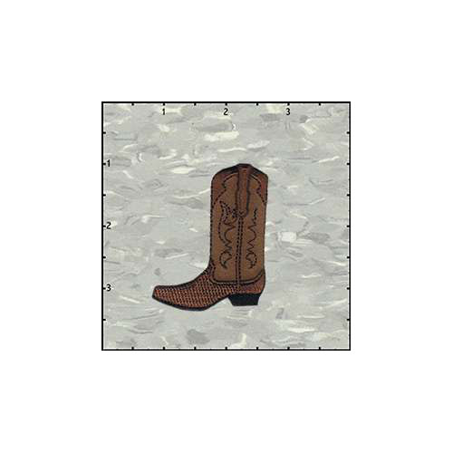 Fuzzy Dude Cowboy Boot