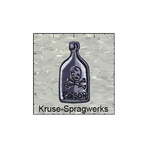 Fuzzy Dude Kruses Spragwerks Poison Bottle