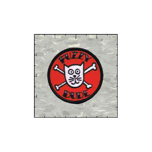 Fuzzy Dude Fuzzy Dude Logo Round
