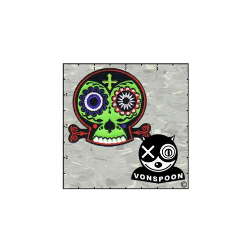 Chico Von Spoons Skull Patch