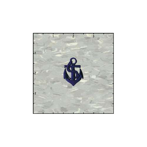 Fuzzy Dude Anchor 1.5 Inches Blue