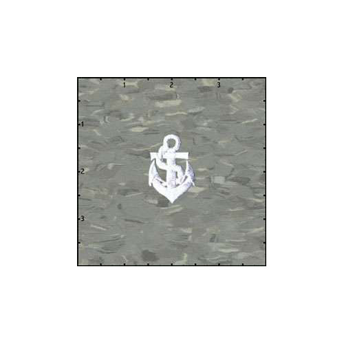 Anchor 1.5 Inches White Patch