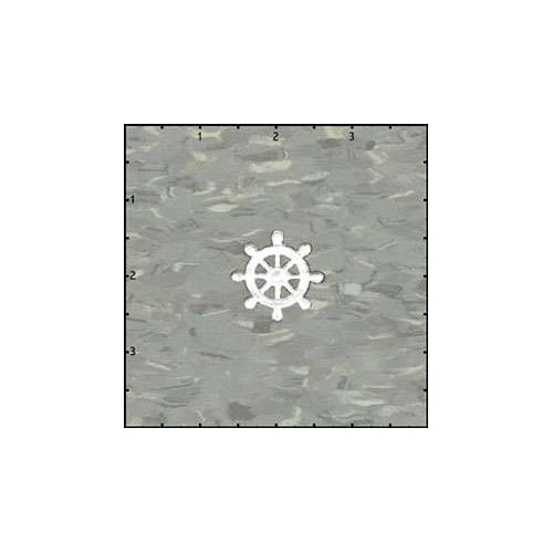 Captains Wheel White Patch