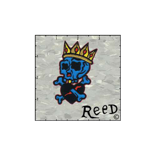 Reeds Skull King Patch
